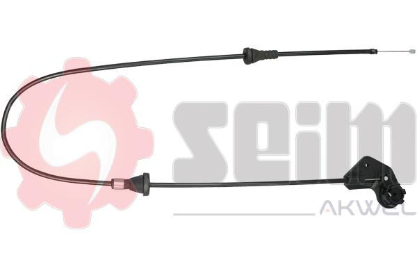 Cable d'ouverture capot SEIM 555681 (X1)