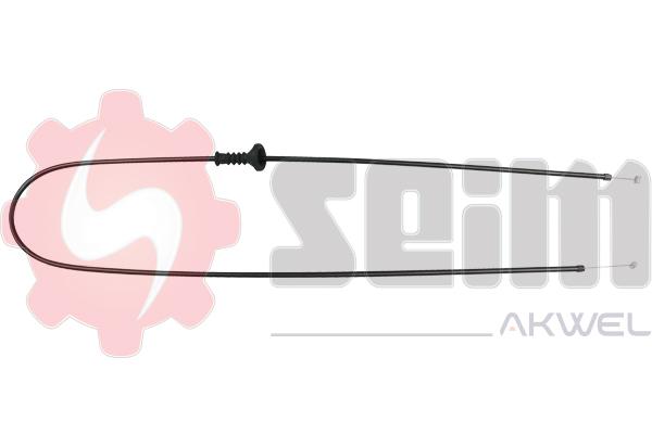 Cable d'ouverture capot SEIM 555689 (X1)