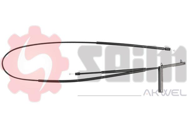 Cable d'ouverture capot SEIM 555700 (X1)