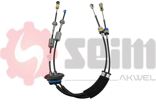 Tirette à câble, boîte de vitesse manuelle SEIM 555722 (X1)