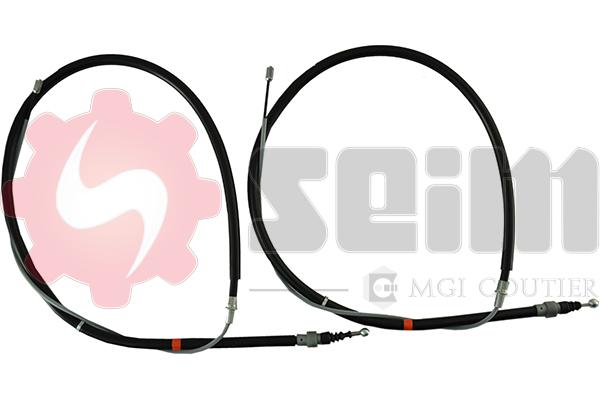 Cable de frein à main SEIM 805081 (Jeu de 2)