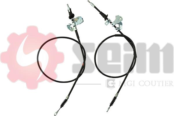 Cable de frein à main SEIM 805085 (Jeu de 2)