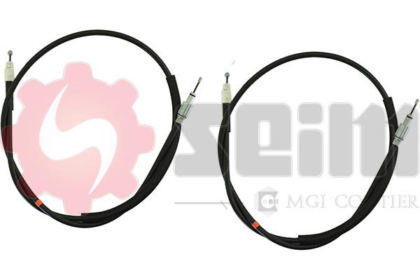 Cable de frein à main SEIM 805122 (Jeu de 2)