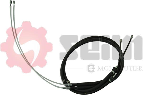 Cable de frein à main SEIM 853203 (Jeu de 2)