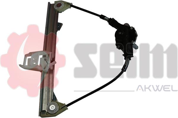 Mecanisme de leve vitre arriere SEIM 901816 (X1)