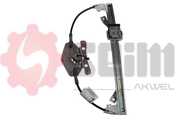 Mecanisme de leve vitre arriere SEIM 902072 (X1)