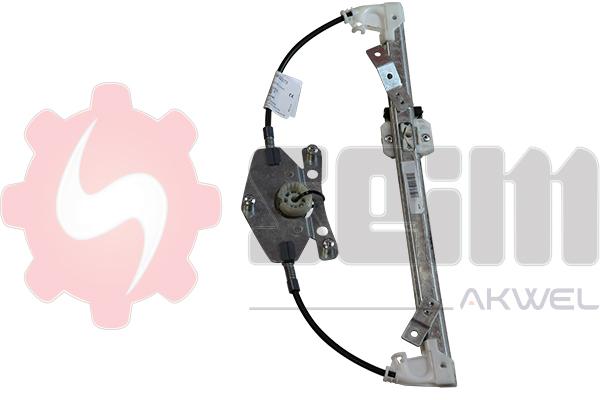 Mecanisme de leve vitre arriere SEIM 902073 (X1)