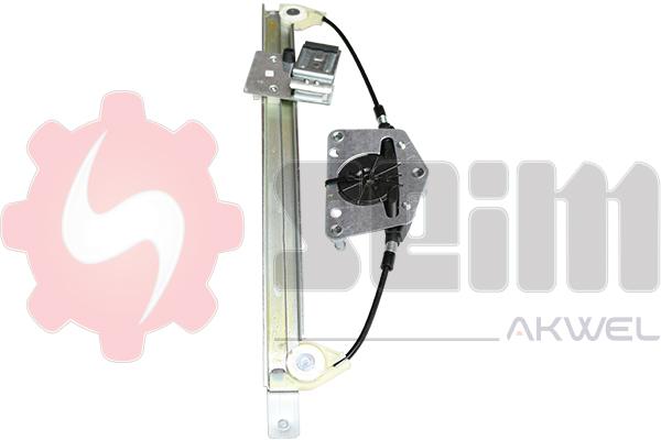 Mecanisme de leve vitre arriere SEIM 902074 (X1)