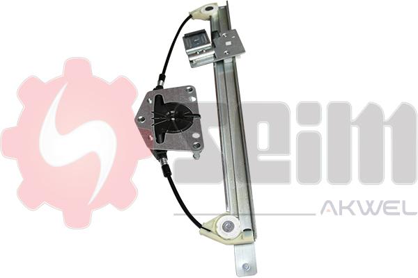 Mecanisme de leve vitre arriere SEIM 902075 (X1)