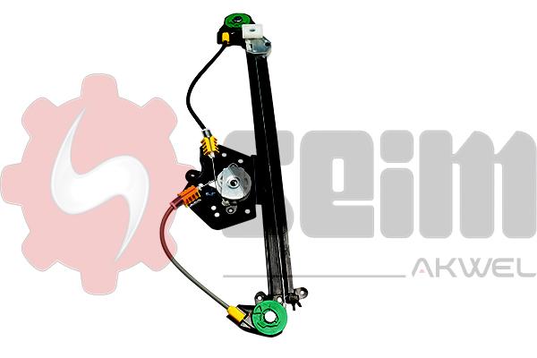 Mecanisme de leve vitre arriere SEIM 902086 (X1)