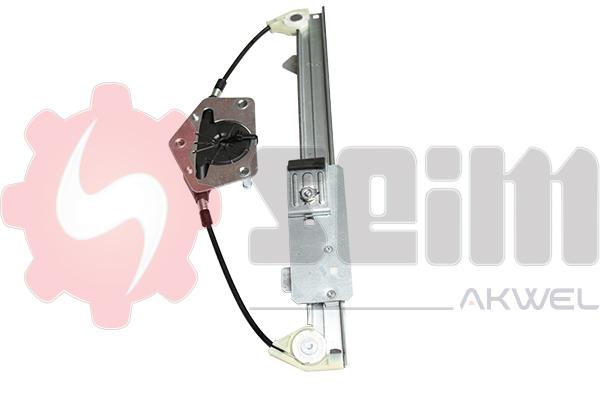 Mecanisme de leve vitre arriere SEIM 902253 (X1)