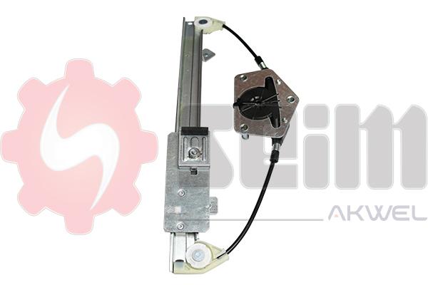 Mecanisme de leve vitre arriere SEIM 902254 (X1)