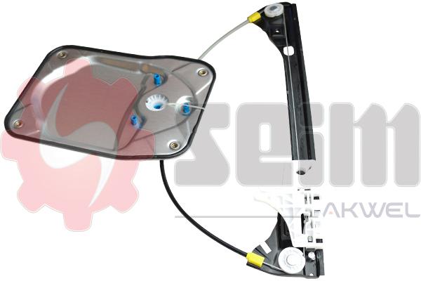Mecanisme de leve vitre arriere SEIM 902255 (X1)