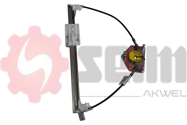 Mecanisme de leve vitre arriere SEIM 902260 (X1)