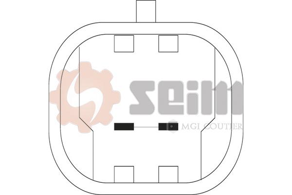 Mecanisme de leve vitre avant SEIM 900564 (X1)