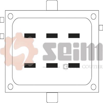 Mecanisme de leve vitre arriere SEIM 901794 (X1)