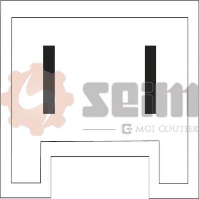 Mecanisme de leve vitre SEIM 900765 (X1)