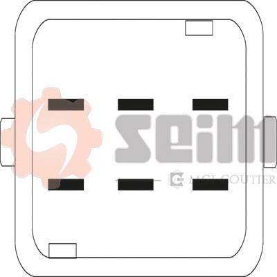 Mecanisme de leve vitre SEIM 901064 (X1)