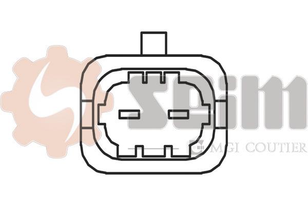 Capteur de cliquetis SEIM CC58 (X1)
