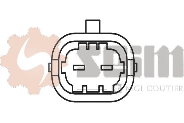 Capteur de cliquetis SEIM CC05 (X1)
