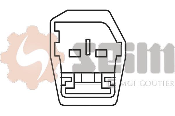 Capteur de cliquetis SEIM CC49 (X1)