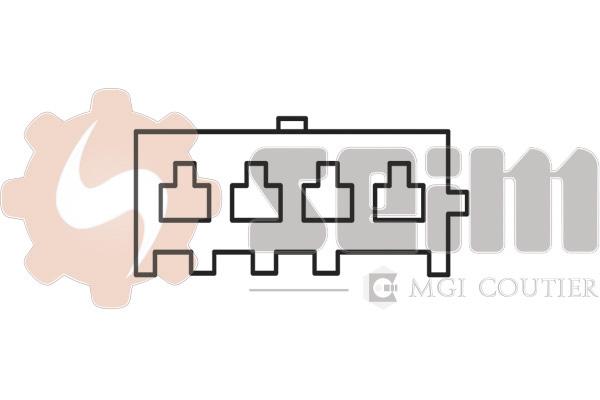 Capteur de cliquetis SEIM CC100 (X1)