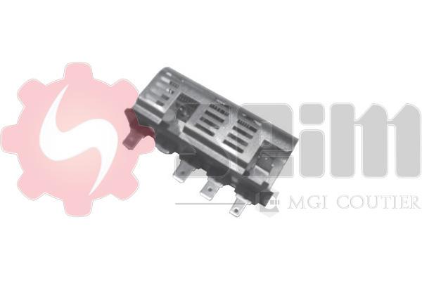 Resistance moteur de ventilateur de chauffage SEIM S10300 (X1)