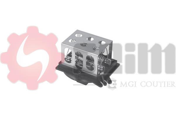 Resistance moteur de ventilateur de chauffage SEIM S10600 (X1)