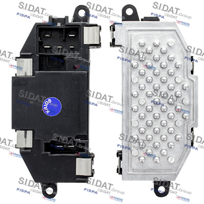 Servo moteur de ventilateur de chauffage SIDAT 10.6029 (X1)