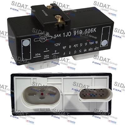 Relais, chasse du ventilateur de radiateur SIDAT 3.240140 (X1)