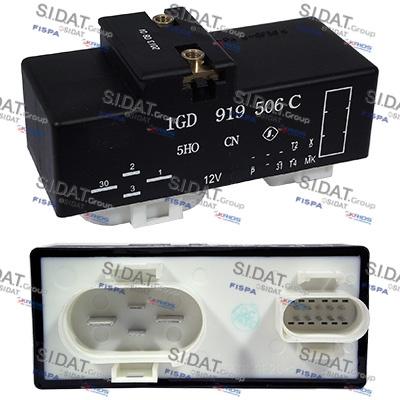 Relais, chasse du ventilateur de radiateur SIDAT 3.240141 (Jeu de 2)