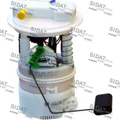 Unité d'injection de carburant SIDAT 72679 (X1)