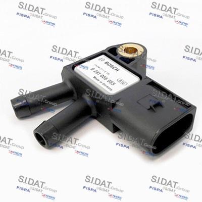 Capteur, pression des gaz échappement SIDAT 84.438A2 (X1)