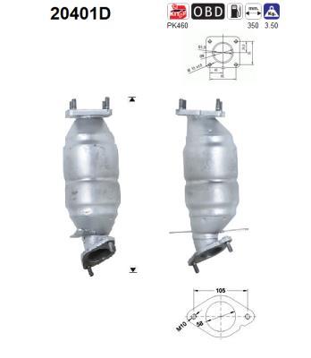 Catalyseur AS 20401D (X1)