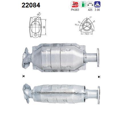 Catalyseur AS 22084 (X1)