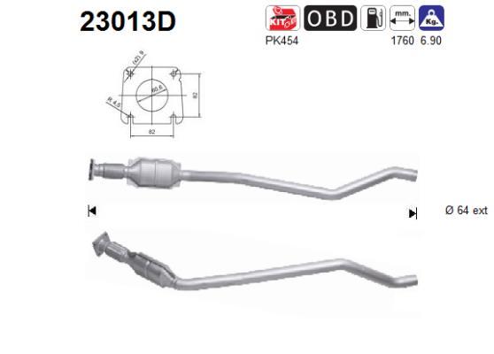 Catalyseur AS 23013D (X1)
