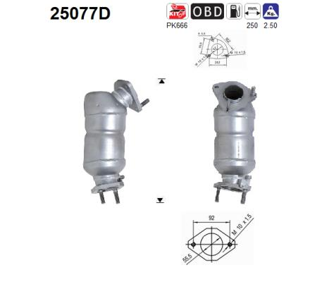 Catalyseur AS 25077D (X1)