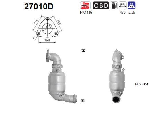 Catalyseur AS 27010D (X1)