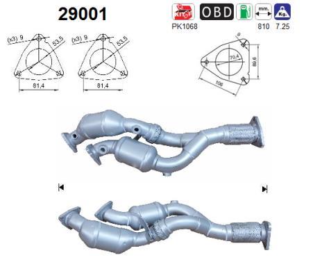 Catalyseur AS 29001 (X1)