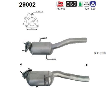 Catalyseur AS 29002 (X1)