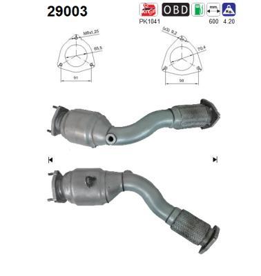 Catalyseur AS 29003 (X1)
