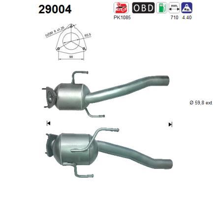 Catalyseur AS 29004 (X1)