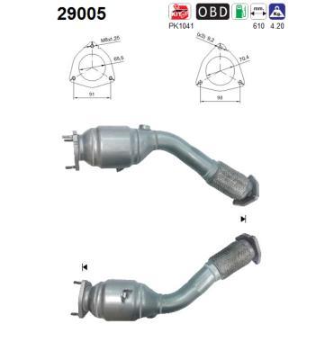 Catalyseur AS 29005 (X1)