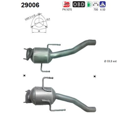 Catalyseur AS 29006 (X1)
