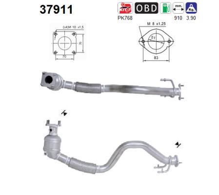 Catalyseur AS 37911 (X1)