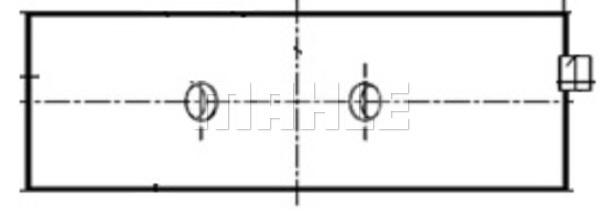 Coussinets de vilebrequin MAHLE 007 HL 20625 200 (X1)
