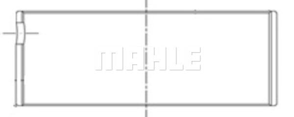 Coussinet de bielle MAHLE 151 PL 10195 025 (X1)