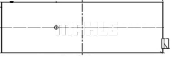 Coussinet de bielle MAHLE 227 PL 10219 000 (X1)