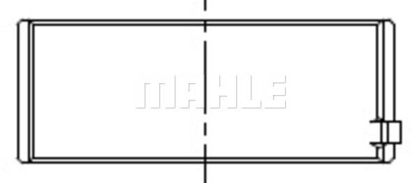 Coussinet de bielle MAHLE 007 PL 20208 210 (X1)