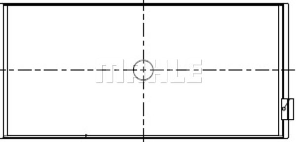 Coussinet de bielle MAHLE 456 PL 20139 230 (X1)
